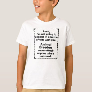 Battle of Wits Animal Breeders T-Shirt