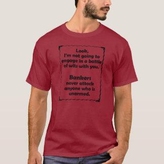 Battle of Wits Banker T-Shirt
