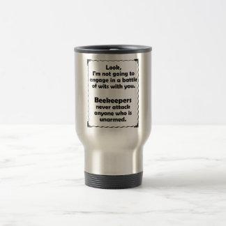 Battle of Wits Beekeeper Travel Mug