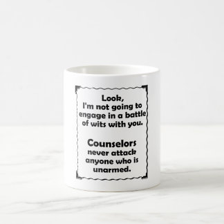 Battle of Wits Counselor Coffee Mug