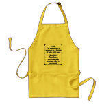 Battle of Wits English Teacher Apron