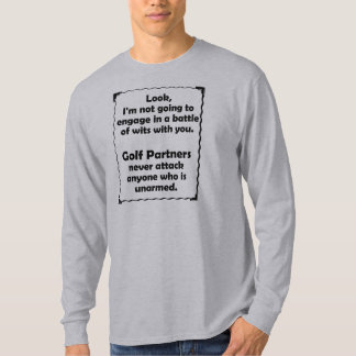 Battle of Wits Golf Partner T-Shirt
