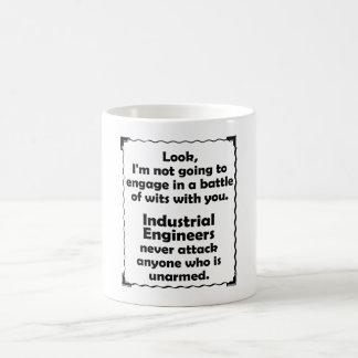 Battle of Wits Industrial Engineer Coffee Mug