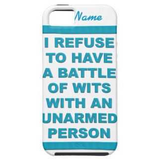 Battle of Wits iPhone Case-Mate