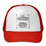Battle of Wits Lobbyist Trucker Hat