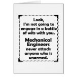 Battle of Wits Mechanical Engineer Card