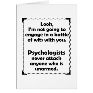 Battle of Wits Psychologist Card