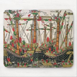 Battle of Zonchio, 1499 Mouse Pad