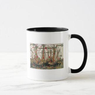 Battle of Zonchio, 1499 Mug