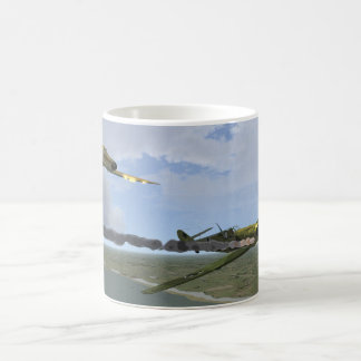 Battle Over The Cliffs of Dover Mug