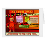 Battle Plan Christian Gift Greeting Cards