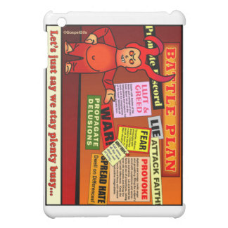 Battle Plan Christian Gift iPad Mini Cover