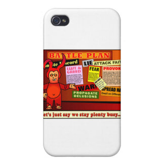Battle Plan Christian Gift Covers For iPhone 4