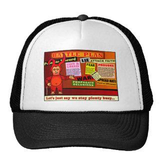 Battle Plan Christian Gift Trucker Hat