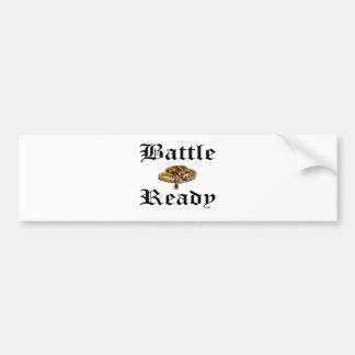 Battle Ready Bumper Sticker