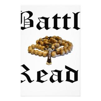 Battle Ready Stationery