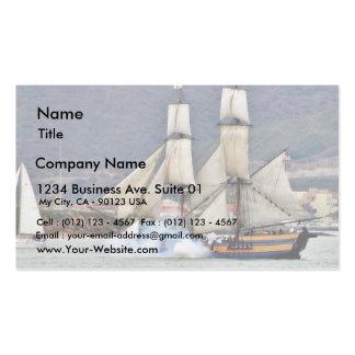 Battle Reenactment At The San Deigo Maritime Museu Business Card Templates