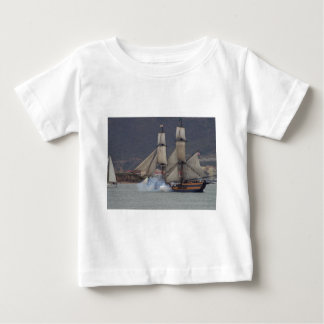 battle-reenactment-at-the-san-deigo-maritime-museu tshirts