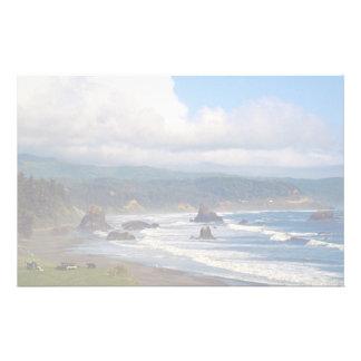 Battle Rock City Beach, Port Orford, Oregon, USA Stationery Paper