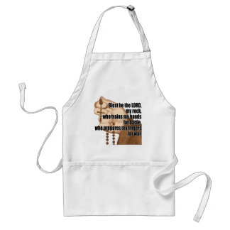 Battle Rosary with sleeve 1 Adult Apron