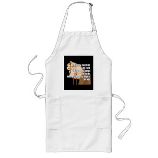 Battle Rosary with sleeve 2 Long Apron