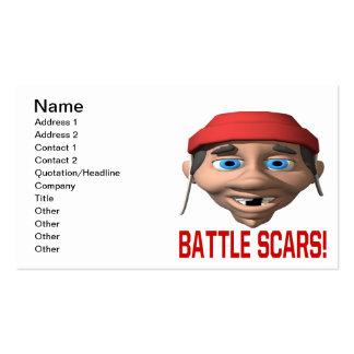 Battle Scars Business Card
