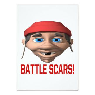 Battle Scars Card