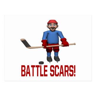 Battle Scars Postcard