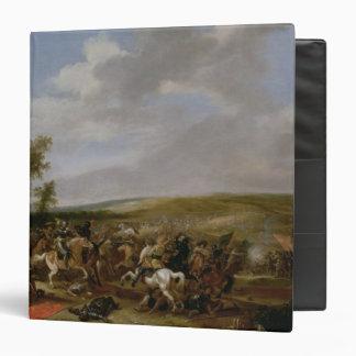 Battle Scene at Lutzen between King Gustavus Binders