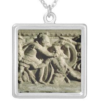 Battle scene from a cinerary urn, Etruscan Jewelry