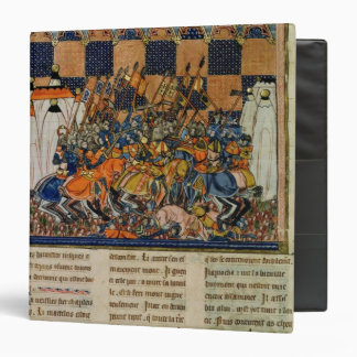 Battle scene, from the biography of Godefroi Binder