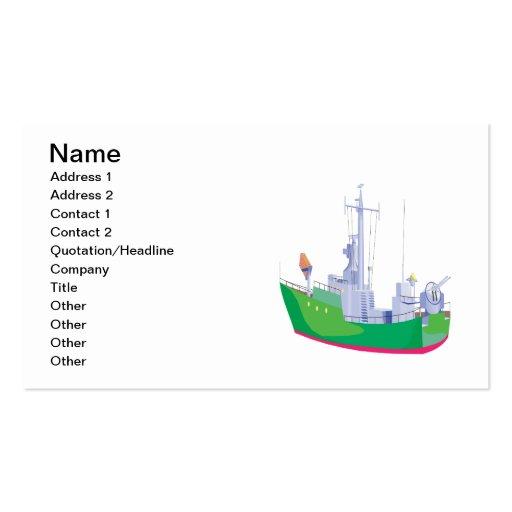Battle Ship Business Card