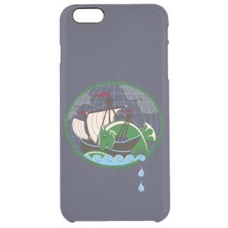 Battle Ship Clear iPhone 6 Plus Case