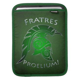 Battle Spartan Trojan Warrior Green Ipad Sleeve