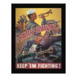 Battle Stations World War 2 Custom Flyer