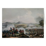 Battle Talavera, engraved by Thomas Sutherland Card
