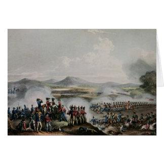 Battle Talavera, engraved by Thomas Sutherland Cards