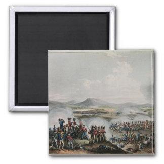 Battle Talavera, engraved by Thomas Sutherland Refrigerator Magnet
