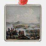 Battle Talavera, engraved by Thomas Sutherland Metal Ornament