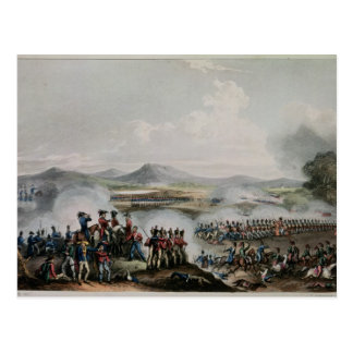 Battle Talavera, engraved by Thomas Sutherland Post Cards