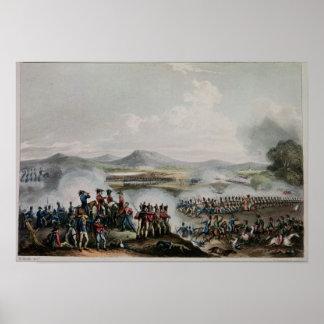 Battle Talavera, engraved by Thomas Sutherland Print