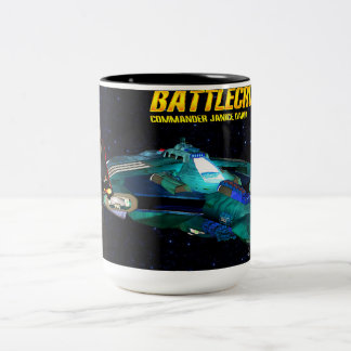 Battlecruiser Mug featurering Commander Daria