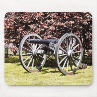 Battlefield Cannon Gettysburg PA Mouse Pad