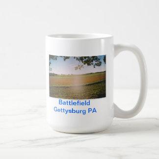 Battlefield Gettysburg PA Classic White Coffee Mug