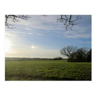 Battlefield in Shrewsbury Postcard