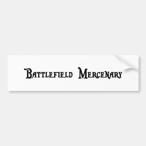 Battlefield Mercenary Bumper Sticker Car Bumper Sticker