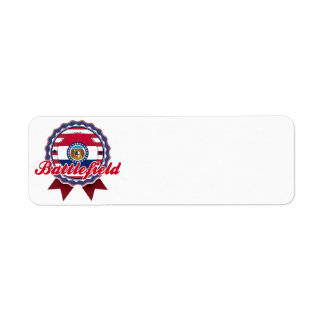 Battlefield, MO Custom Return Address Labels