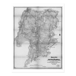 Battlefield of Chickamauga Map Sept 19-20 1863 Postcard