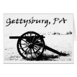 Battlefield of Gettysburg Greeting Card
