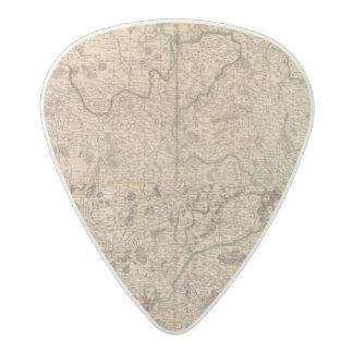 Battlefields and Roman roads Acetal Guitar Pick